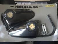 Acerbis Vision Hand Guards with LED in black