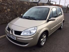 207 renault scenic 1.6 mpv.*one lady owner/10 service stamps 64000 miles*