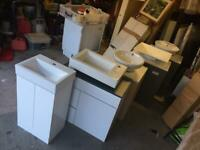 Vanity units and sinks