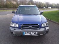 2003 SUBARU FORESTER X ALL WEATHER AWD 4X4