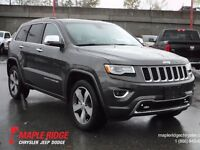 2015 Jeep Grand Cherokee Overland w/ Nav, Pano Roof & Back Up Ca