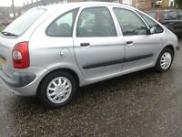 CITROËN XSARA PICASSO LX, SPARES OR REPAIRS 02 PLATE,