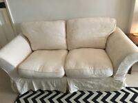 Two Seater DFS Cream Sofa