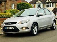 FORD FOCUS 1.6 TDCI ZETEC 2009 81k LOW MILEAGE FSH MOT £30 TAX 76MPG 3 MONTHS WARRANTY