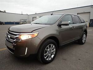 2014 Ford Edge LIMITED AWD V6, NAVIGATION, SUNROOF, LEATHER