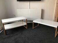 Habitat Kilo TV unit and Coffee Table