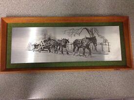 Genuine etching by Lewis & Clayton
