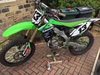 Kawasaki kxf250 2013 mint condition, kxf 250