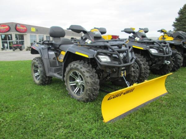 Used 2010 Can-Am Outlander MAX 800R EFI XT-P