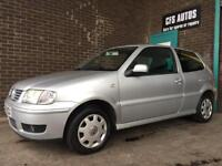 2001 VOLKSWAGEN POLO MATCH **FULL SERVICE HISTORY, CAMBELT CHANGE, AUGUST 2018 MOT** LOW MILEAGE VW