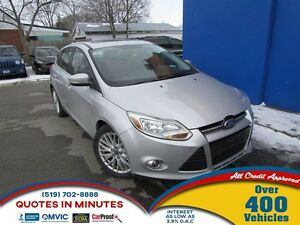 2012 Ford Focus SEL | LEATHER | ROOF | ALLOYS
