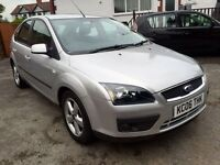 2006 FORD FOCUS-1.6 CLIMATE-5DOORS,TWO OWNERS,2KEYS,99000 LOW MILES,SERVICE HISTORY,ALLOYS,HPI CLEAR