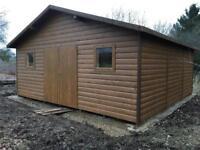 Extra large 20x20 garden house