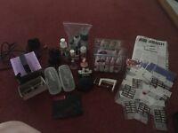 Air brush nail art/make up kit