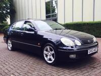 2003 53 Lexus GS 300 3.0 SE 4dr SUNROOF + CREAM LEATHER + S/H GS300
