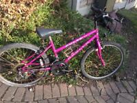 Girls Mountain bike spares /repair