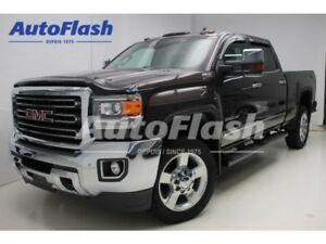2016 GMC SIERRA 2500HD SLT CREW-CAB 6.0L Cuir/Leather * Toit/Roo