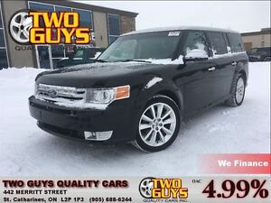 2011 Ford Flex Limited AWD NAVIGATION LEATHER DUAL MOON ROOF DUA