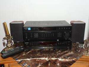 Like New 5 disc player, receiver, and speakers