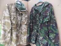 2 British Army Jackets