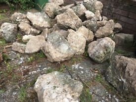 Rocks suitable for rockery or wall