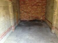 Dry Secure Lock Up Garage fitted with Garage Defender for rent - Basingstoke