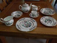 Duchess bone china tea set and dinner service