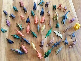 Dinosaur miniatures. 50. Small world play.