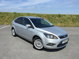 VERY LOW MILEAGE 2008 FORD FOCUS 1.6 TITANIUM FULL SERVICE HISTORY AND LONG MOT! GREAT CAR!