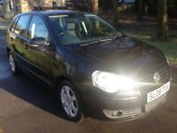 VOLKSWAGEN POLO 1.4 Match 80 5dr (black) 2008