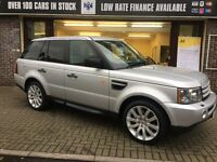 LAND ROVER RANGE ROVER SPORT 4.2 V8 Supercharged 5dr Auto (silver) 2005