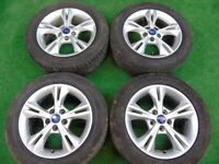 "FORD C-MAX, FOCUS, GALAXY, TRANSIT CONNECT, S-MAX, MONDEO 16"" inch ALLOY WHEELS"
