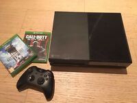 Xbox One + 2 games!