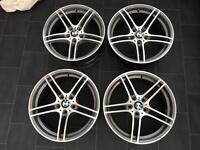 "Bmw 19"" 313 allo wheels genuine bmw bbs"