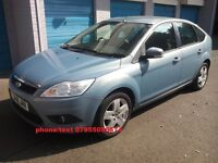 ford focus style tdci turbo diesel 2008 08 plate