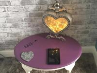 Love coffee table £40