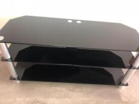 Large Tempered Glass Tv Stand