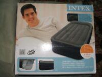 Single Itex Air-bed with 220/240 air pump