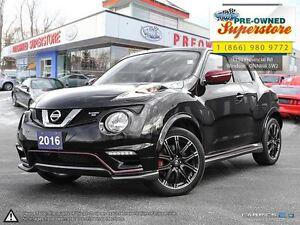 2016 Nissan Juke NISMO**NAV, suede seating**