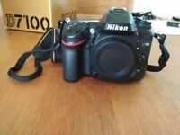 Nikon D7100 body, 6253 actuations only.