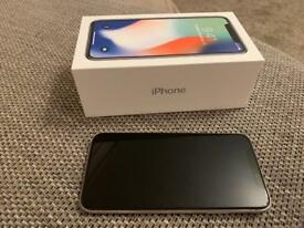 iPhone X - 256GB - silver - unlocked