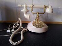 Binatone Cream/ivory Stylish/Retro Classic 5502 telephone