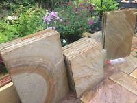 Floor slabs (Internal/External) Indian Sandstone