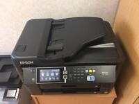 Epson Workforce WF7620 wireless a3 printer scanner