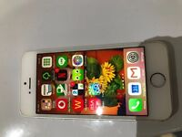 Unlocked Silver Apple Iphone 5S 16GB Mobile Phone