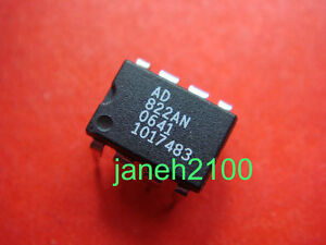 10PCS-AD822-AD822AN-OP-AMP-RAILl-TO-RAIL-FET-INPUT-ICS
