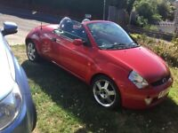Ford KA street lux convertable