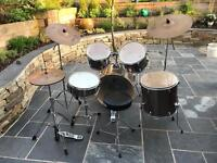 Mapex five piece drum kit