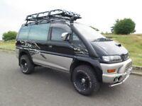 Mitsubishi DELICA SPACE GEAR 2.8TD 4x4 Automatic Campervan 99000miles