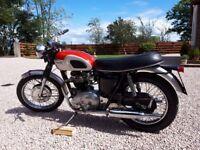1969 Triumph BonnevilleT120 Classic Motocycle